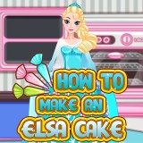 How to Make an Elsa Cake