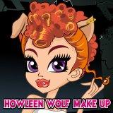 Howleen Wolf Make up