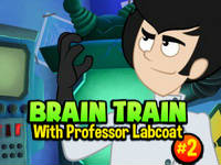 Brain Train with Professor Labcoat #2