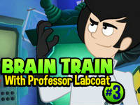 Brain Train with Professor Labcoat #3