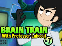 Brain Train with Professor Labcoat #7