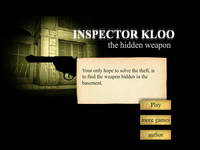Inspector Kloo 2: the hidden weapon