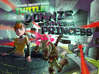 TMNT: Donnie Saves A Princess