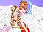 Angel Bride Dress Up