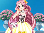 Anime Flower Princess Dress Up