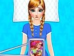 Anna Frozen in Hospital