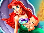Ariel and the New Born Baby