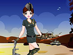 Army Girl Dress Up 2