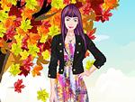Autumn Girl Fashion Dress Up