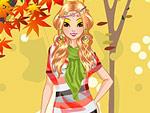 Autumn Trend Girl Dress Up