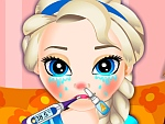 Baby Elsa Flu Doctor
