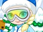 Baby Elsa Skiing Trip