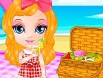 Baby Girl Picnic Day
