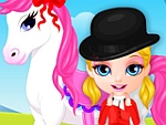 Baby Girl Pony Present