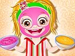 Baby Hazel Spa Makeover