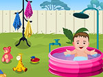 Baby Outdoor Bathing
