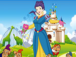 Beautiful Snow White Dress Up