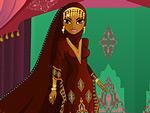 Bedouin Bride Dress Up