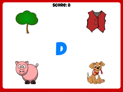 Beginning Sounds | Free Letter Game for Kindergarten & Preschool Students