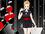 Black and Red Party Dress Up