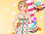Candy Girl Dress Up 2