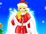 Charming Christmas Angel Dress Up