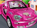 Clean my New Pink Beetle