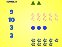 Count and Match | Counting Number Game for Kindergarten & Preschool Students | Free Math Computer Ac
