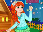 Counting Stars Girl Dress Up