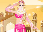 Cute Arabic Princess Dress Up