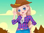 Cute Cowgirl Dress Up