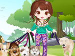 Cute Dog Walker Dress Up