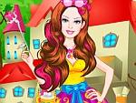 Cute Doll Carnival Princess Dress Up