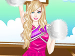 Cute Doll Cheerleader Dress Up