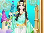 Cute Doll Greek Princess Dress Up