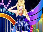 Cute Doll Lady Gaga Style Dress Up
