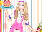 Cute Doll Pastry Chef Dress Up