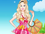 Cute Doll Summer Break Dress Up