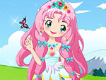 Cute Flower Princess Dress Up