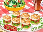 Cute Little Mini Burgers
