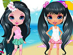 Cute Model - Fashion Beach Party Dress Up