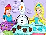 Cutezee Cooking Academy - Elsa Cupcakes