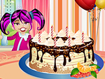 Delicious Birthday Cake Decorating