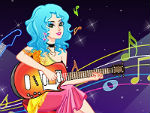 Devoted Guitar Girl Dress Up
