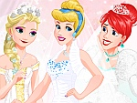 Disney Princess Wedding Festival Dress Up
