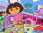 Dora Groom the Room