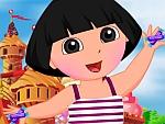 Dora Junket to Candy Land Dress Up