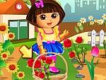 Dora Loves Flowers