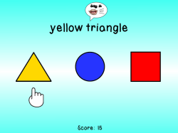 Double Click Colors & Shapes | Free Computer Game for Kindergarten & Preschool Students
