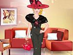 Elegant Woman Dress Up